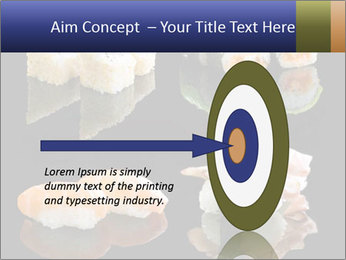 Fresh Sushi Set PowerPoint Templates - Slide 83