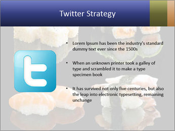 Fresh Sushi Set PowerPoint Templates - Slide 9