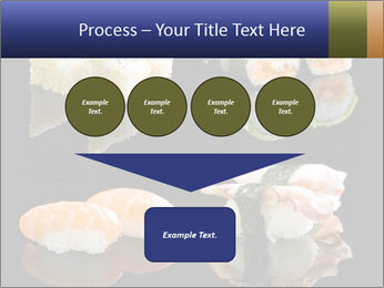 Fresh Sushi Set PowerPoint Templates - Slide 93