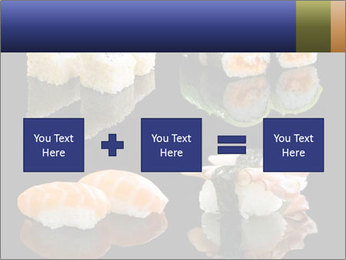 Fresh Sushi Set PowerPoint Templates - Slide 95
