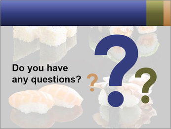 Fresh Sushi Set PowerPoint Templates - Slide 96