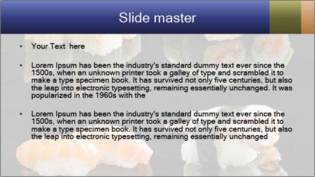 Fresh Sushi Set PowerPoint Template - Slide 2