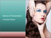Creative Hairdo PowerPoint Templates