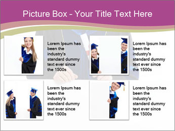 Graduater with Board PowerPoint Template - Slide 14