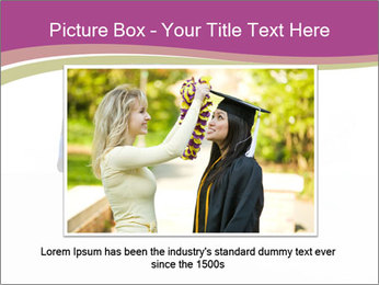 Graduater with Board PowerPoint Template - Slide 15