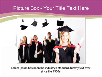 Graduater with Board PowerPoint Template - Slide 16