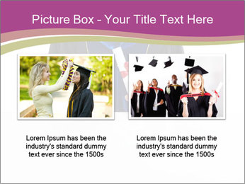 Graduater with Board PowerPoint Template - Slide 18