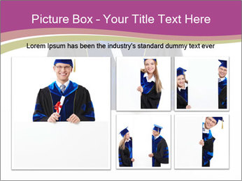 Graduater with Board PowerPoint Template - Slide 19