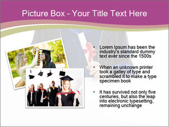Graduater with Board PowerPoint Template - Slide 20