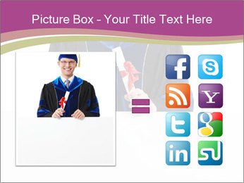 Graduater with Board PowerPoint Template - Slide 21