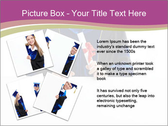 Graduater with Board PowerPoint Template - Slide 23