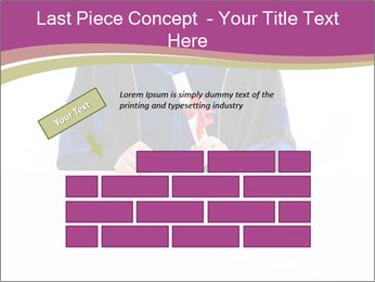 Graduater with Board PowerPoint Template - Slide 46