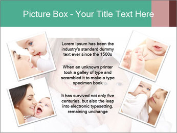 Mother Washes Her Baby PowerPoint Templates - Slide 24
