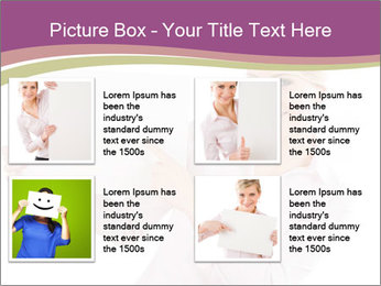 Woman Advertising New Product PowerPoint Template - Slide 14