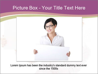 Woman Advertising New Product PowerPoint Template - Slide 15