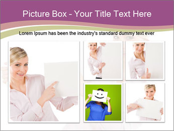 Woman Advertising New Product PowerPoint Template - Slide 19