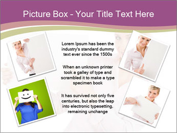 Woman Advertising New Product PowerPoint Template - Slide 24