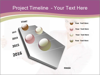 Woman Advertising New Product PowerPoint Template - Slide 26