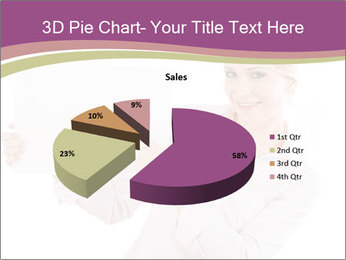 Woman Advertising New Product PowerPoint Template - Slide 35