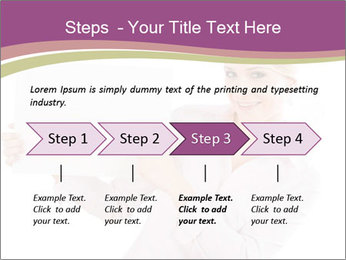 Woman Advertising New Product PowerPoint Template - Slide 4
