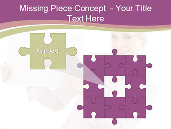 Woman Advertising New Product PowerPoint Template - Slide 45