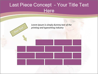 Woman Advertising New Product PowerPoint Template - Slide 46