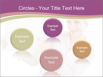 Woman Advertising New Product PowerPoint Template - Slide 77