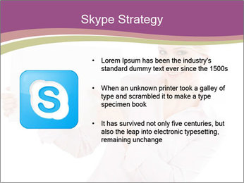 Woman Advertising New Product PowerPoint Template - Slide 8