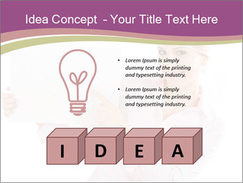 Woman Advertising New Product PowerPoint Template - Slide 80