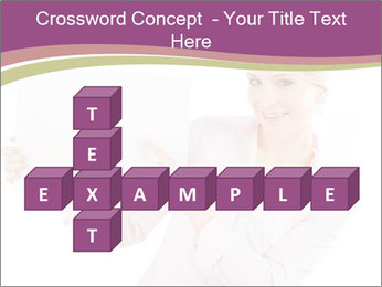 Woman Advertising New Product PowerPoint Template - Slide 82