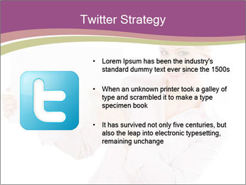 Woman Advertising New Product PowerPoint Template - Slide 9
