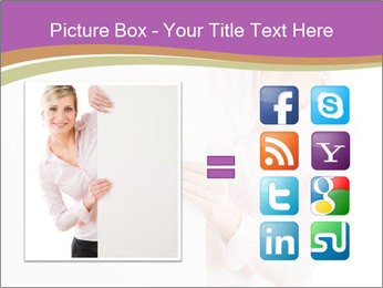 Office Employee and Board PowerPoint Template - Slide 21