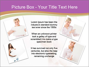 Office Employee and Board PowerPoint Templates - Slide 24