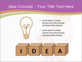 Office Employee and Board PowerPoint Template - Slide 80