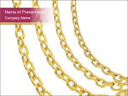Golden Jewelry PowerPoint Templates