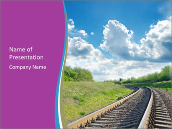 Railway Infrastructure PowerPoint Template