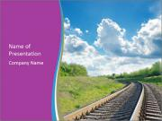 Railway Infrastructure PowerPoint Templates