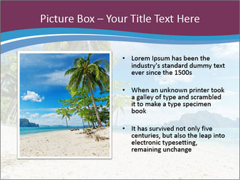 White Sand PowerPoint Template - Slide 13