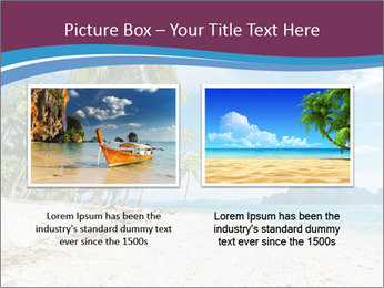 White Sand PowerPoint Template - Slide 18