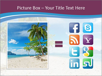 White Sand PowerPoint Template - Slide 21