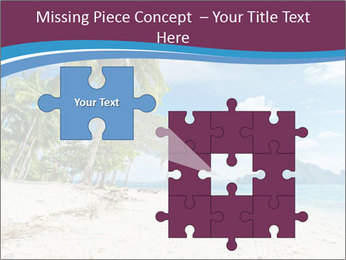 White Sand PowerPoint Template - Slide 45