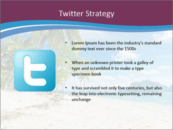 White Sand PowerPoint Template - Slide 9