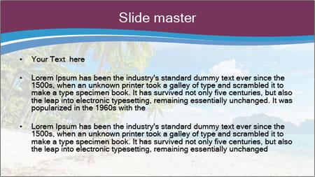White Sand PowerPoint Template - Slide 2