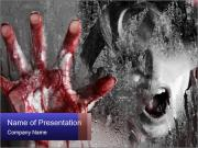 Crazy Death PowerPoint Templates