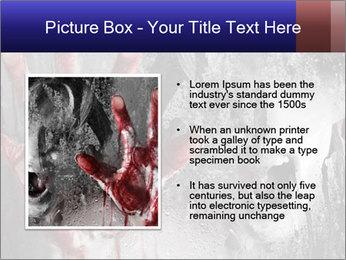 Crazy Death PowerPoint Template - Slide 13