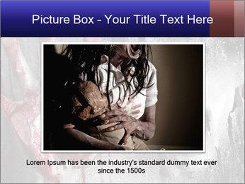 Crazy Death PowerPoint Template - Slide 15