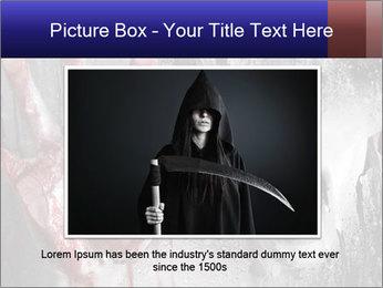 Crazy Death PowerPoint Template - Slide 16