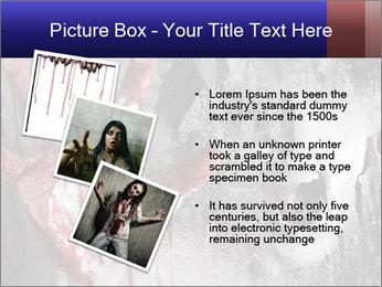 Crazy Death PowerPoint Template - Slide 17
