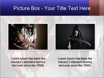 Crazy Death PowerPoint Template - Slide 18