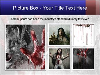 Crazy Death PowerPoint Template - Slide 19